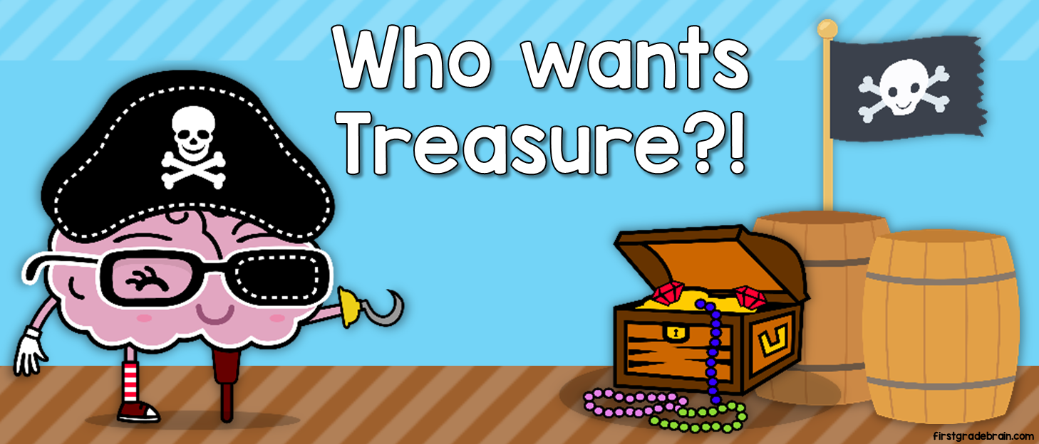 Who wants free treasure?!